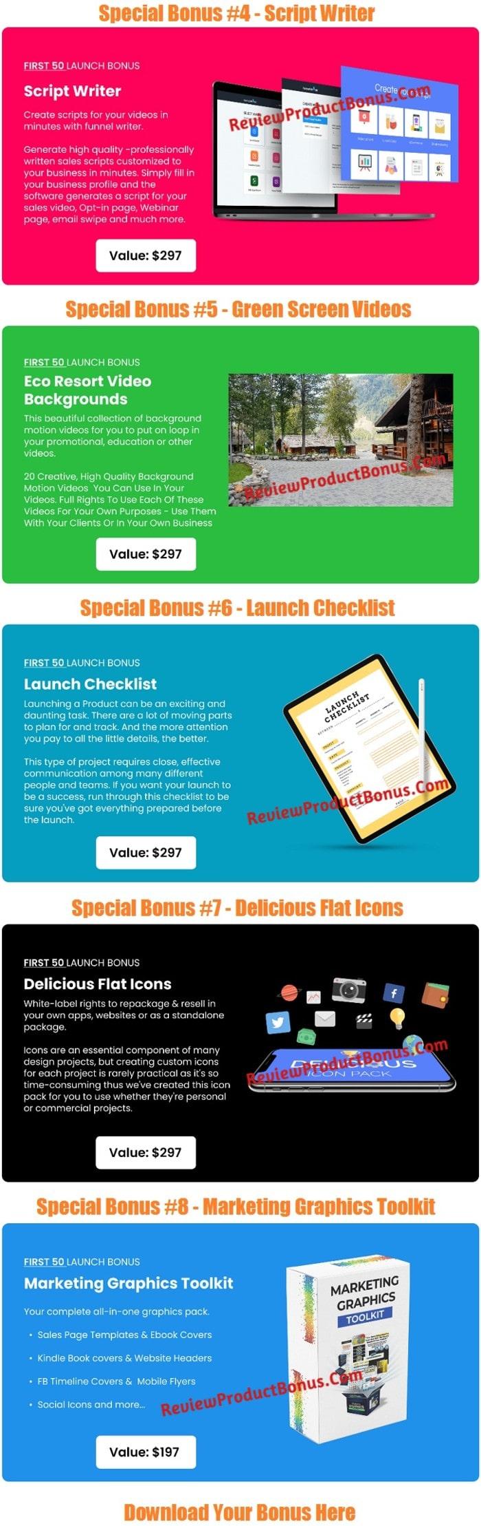 Challenges App Bonuses