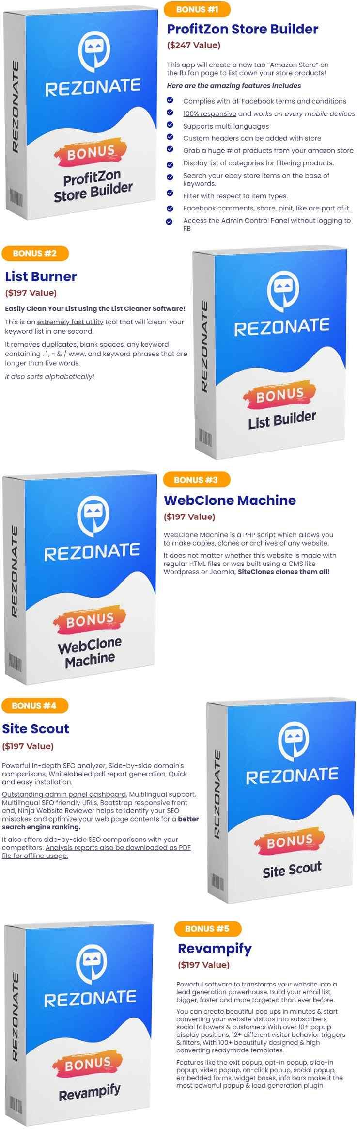 Rezonate Bonus