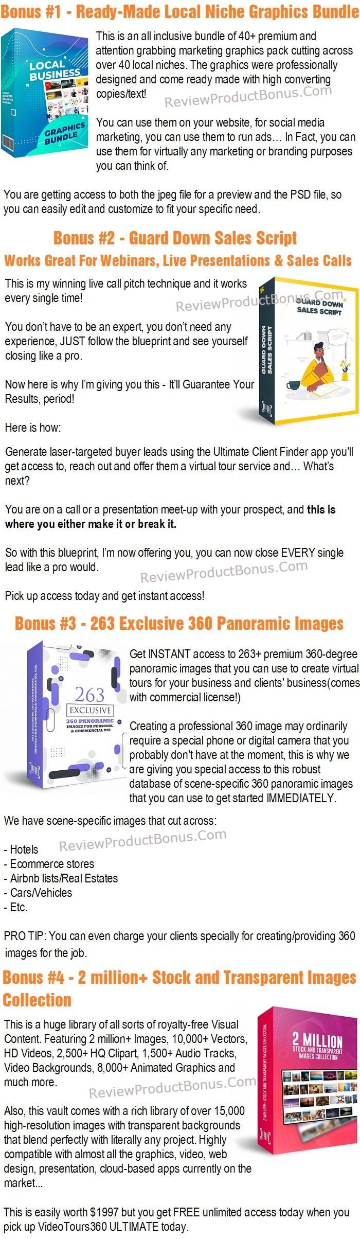 VideoTours360 Ultimate Bonus