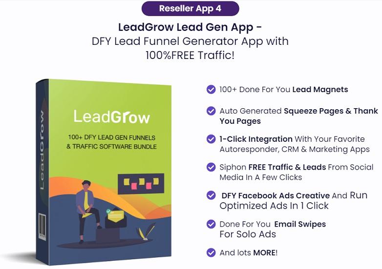 LeadGrow Lead Gen App